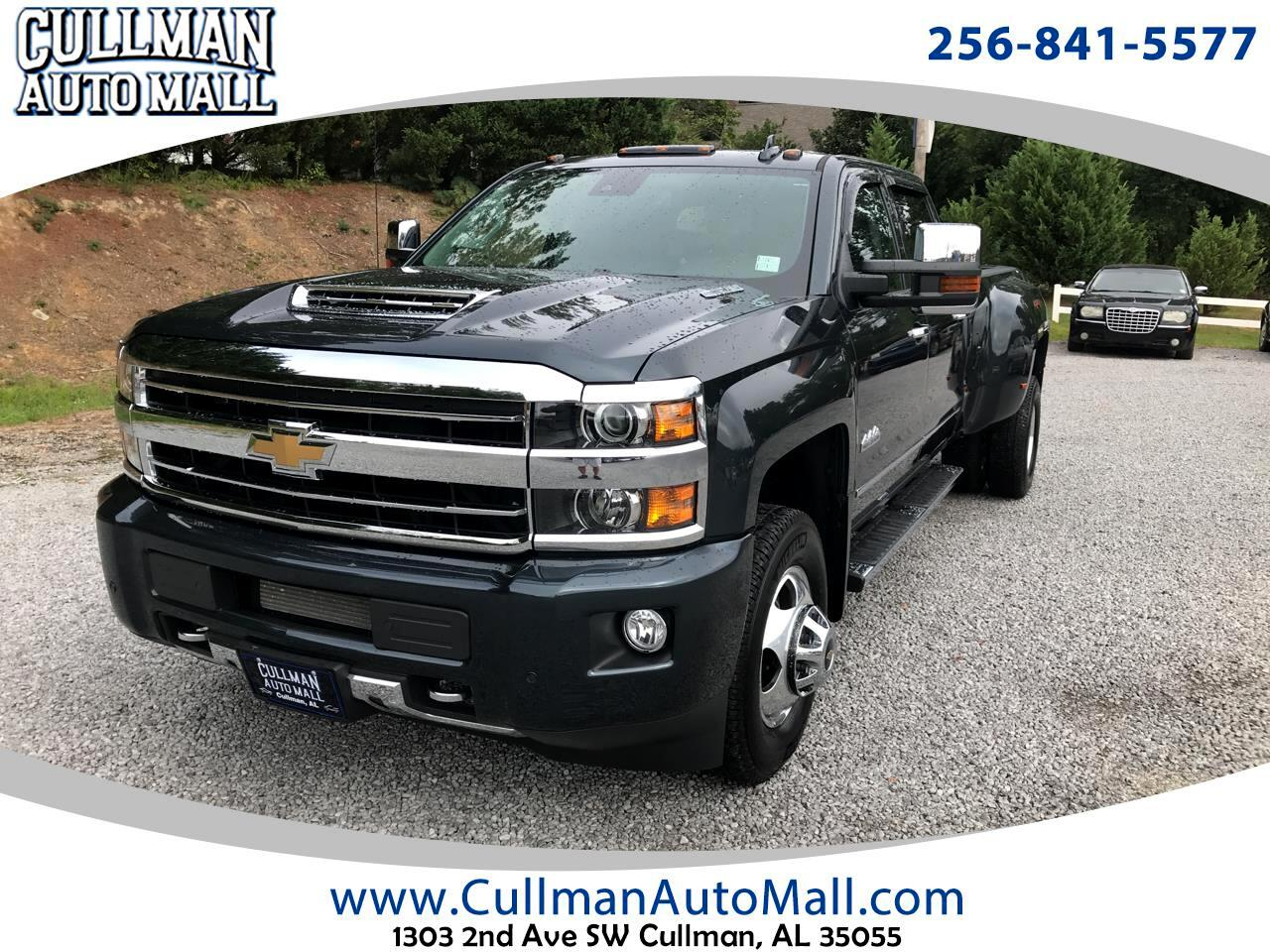 "Chevrolet Silverado 3500HD 4WD Crew Cab 167.7"" High Country 2018"