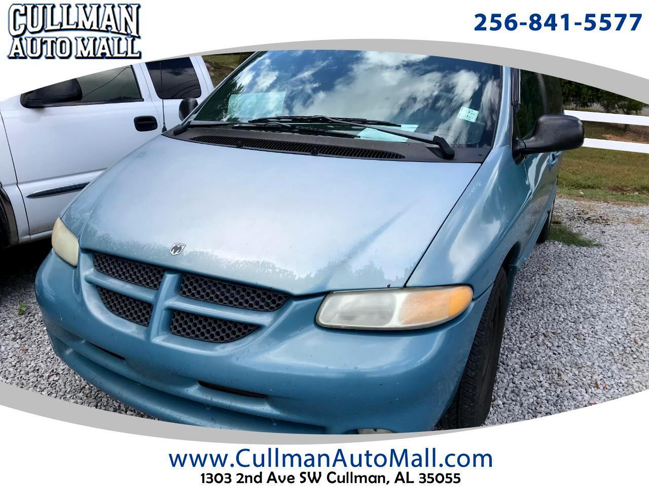 """1999 Dodge Caravan 4dr SE 113"""" WB"""
