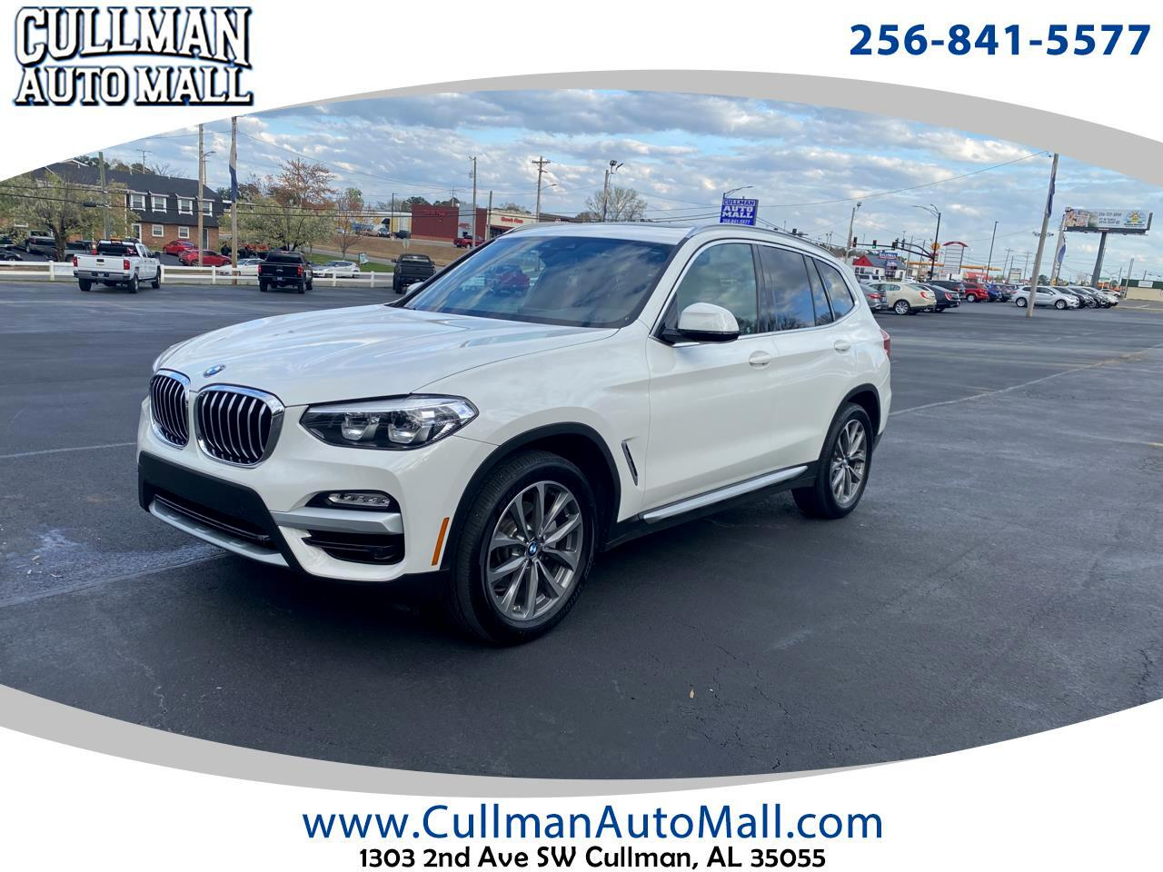 BMW X3 xDrive30i Sports Activity Vehicle 2019
