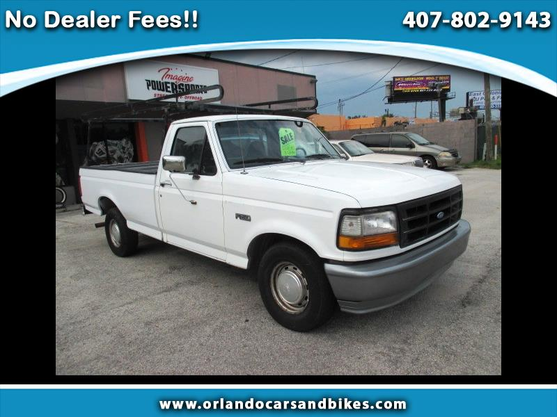 1996 Ford F-150 XL Reg. Cab Short Bed 2WD