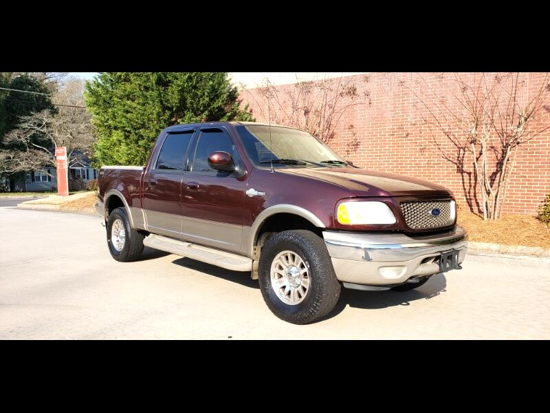 2002 Ford F-150 King Ranch 4WD SuperCrew 5.5' Box
