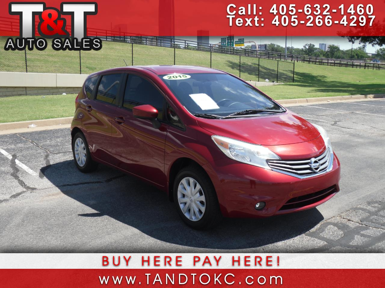 Nissan Versa Note S 5MT 2015