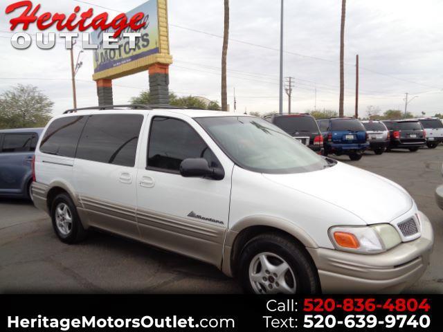 2001 Pontiac Montana 1SC