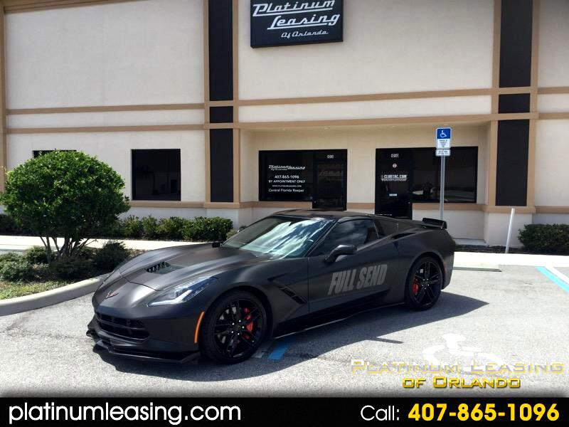 Chevrolet Corvette Z51 3LT Coupe Automatic 2016