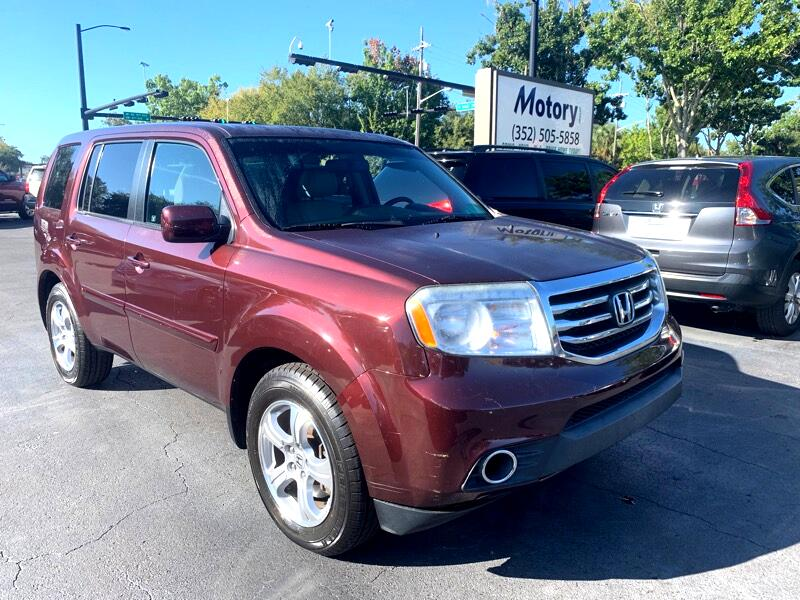 2012 Honda Pilot EX-L 2WD 5-Spd AT with DVD