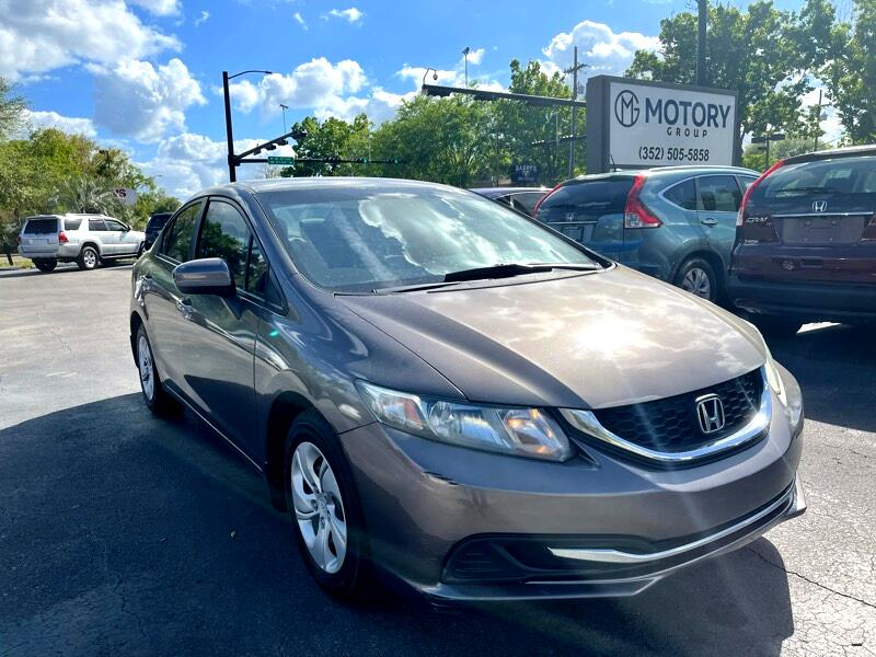 Honda Civic LX Sedan 5-Speed MT 2014