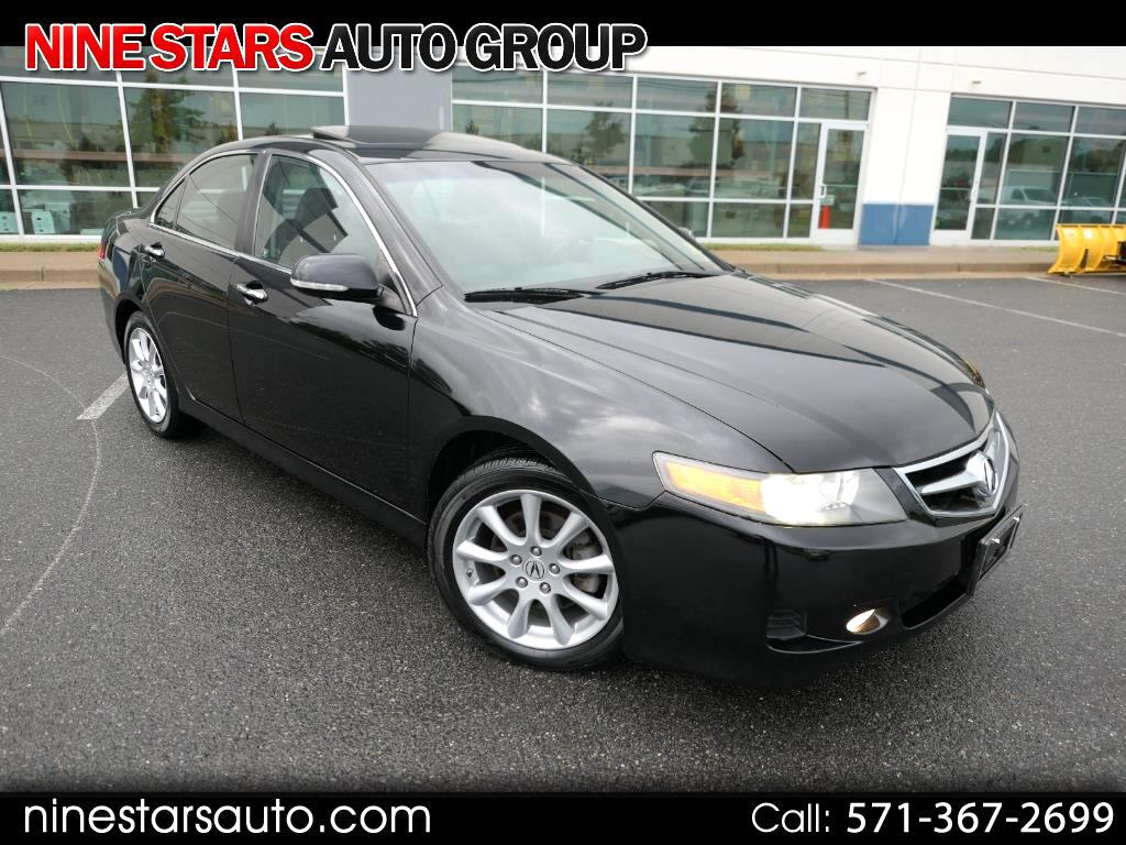 2007 Acura TSX 6-Spd MT