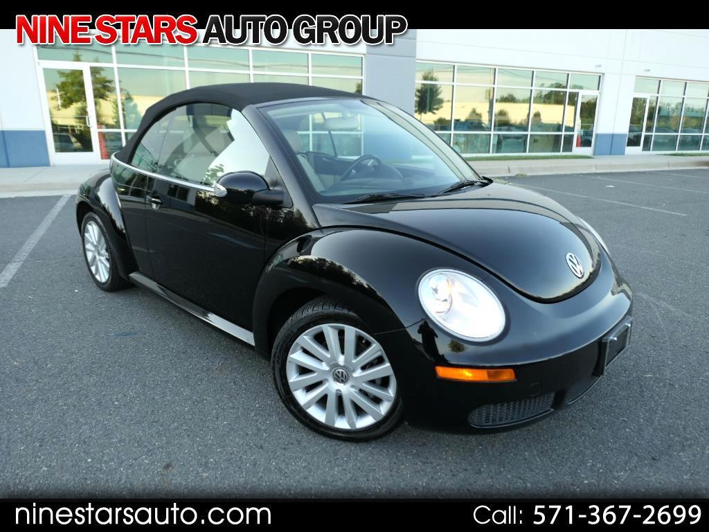 2010 Volkswagen New Beetle 2.5L Convertible