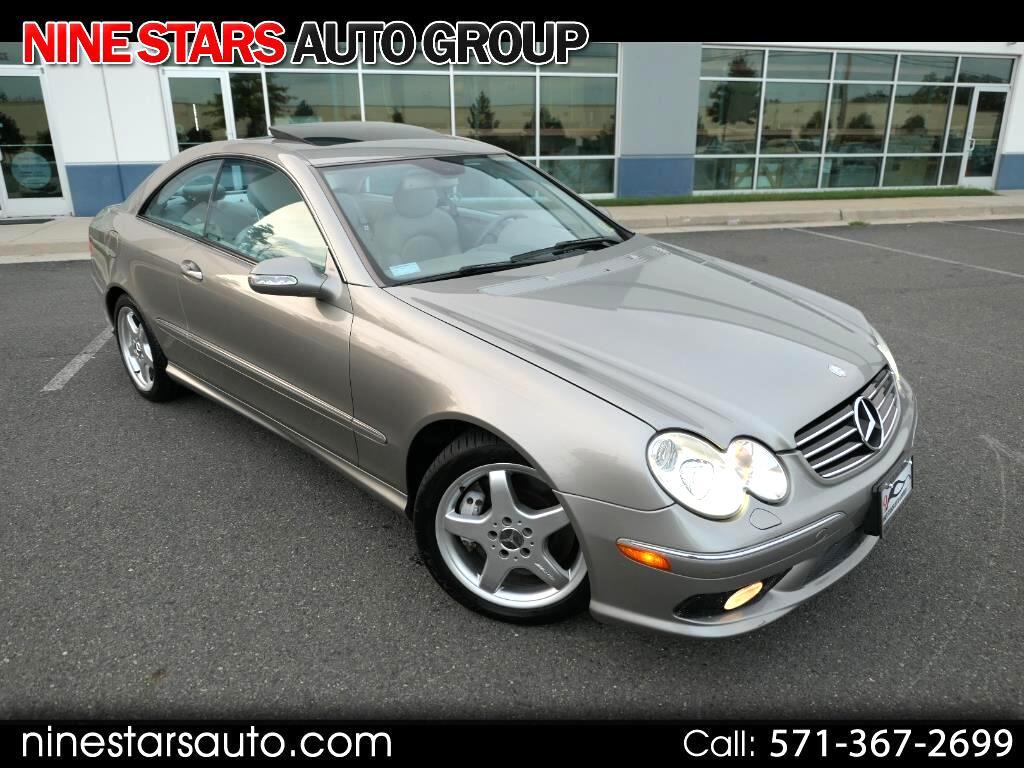 2004 Mercedes-Benz CLK-Class CLK500 Coupe