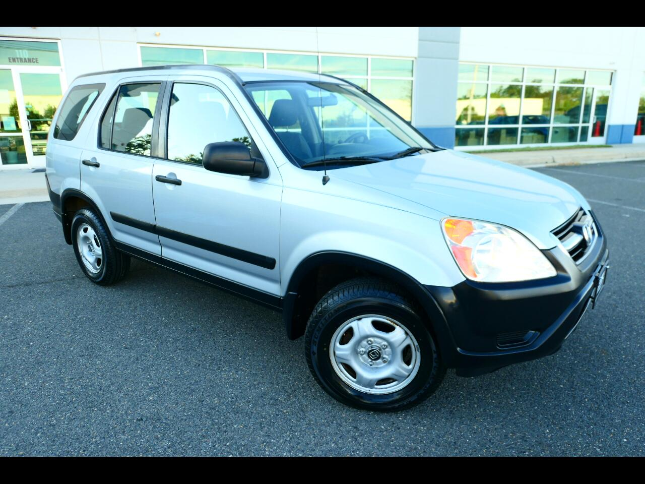 2004 Honda CR-V LX 4WD AT w/ Front Side Airbags