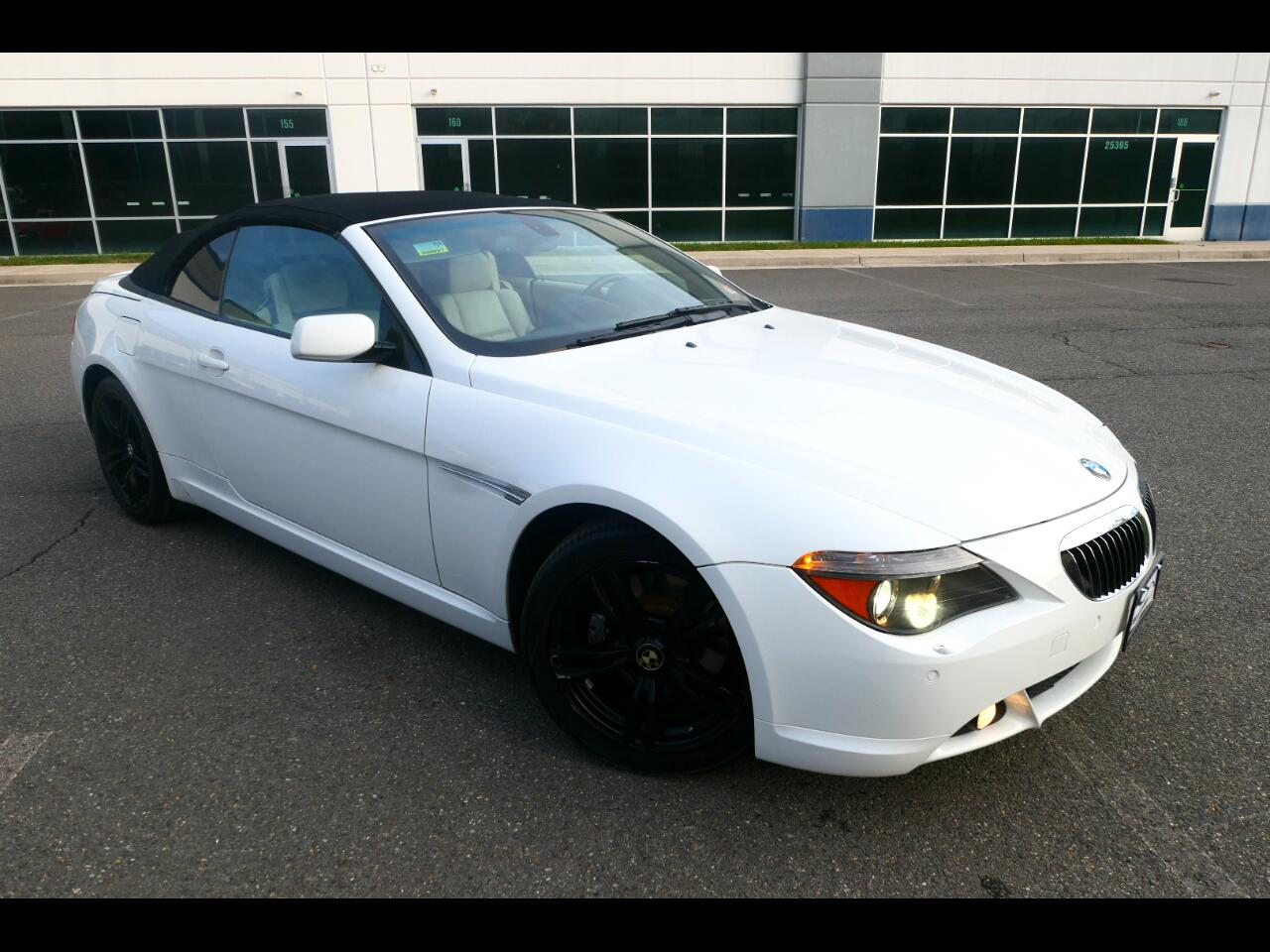 BMW 6-Series 650i Convertible 2006