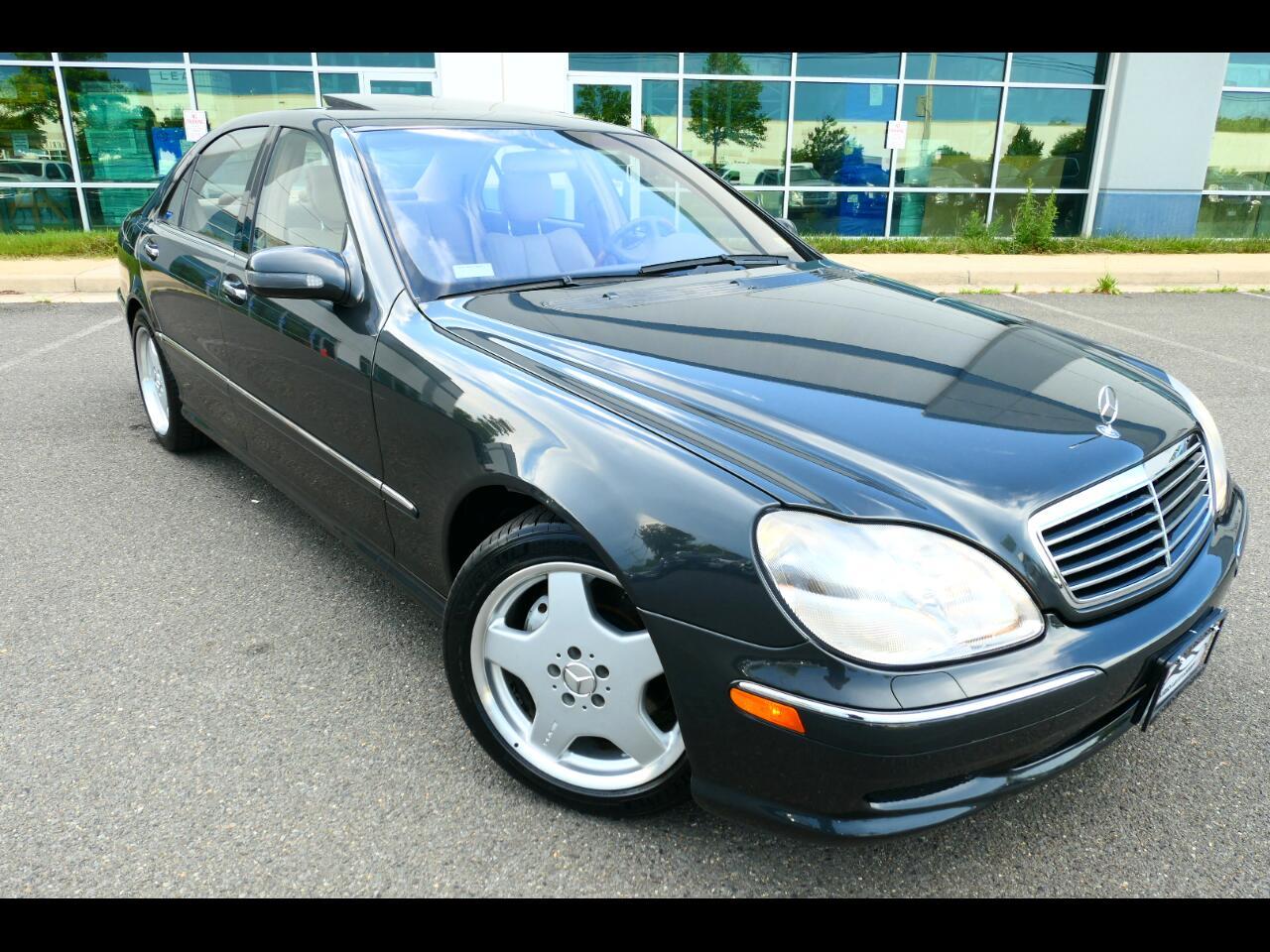 Mercedes-Benz S-Class S500 2002
