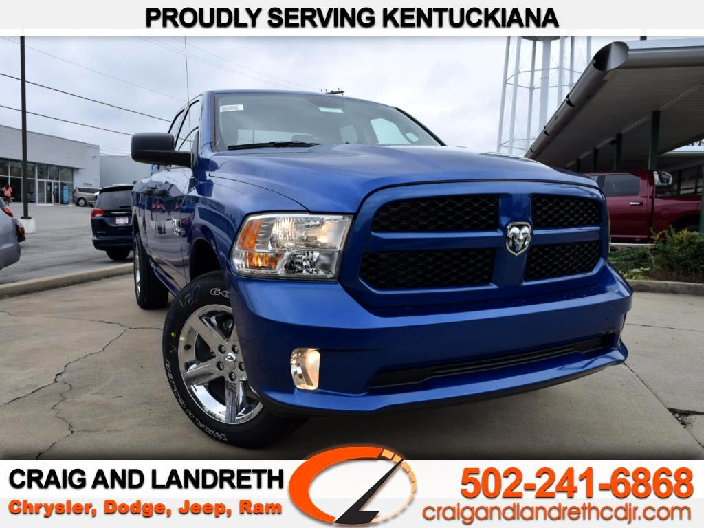 """Craig And Landreth Cars >> New 2018 RAM 1500 Express 4x2 Quad Cab 6'4"""" Box for Sale in Crestwood Louisville Tri KY 40014 ..."""