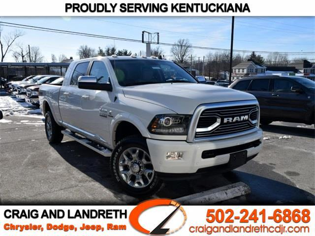 "2018 RAM 2500 Limited 4x4 Mega Cab 6'4"" Box"
