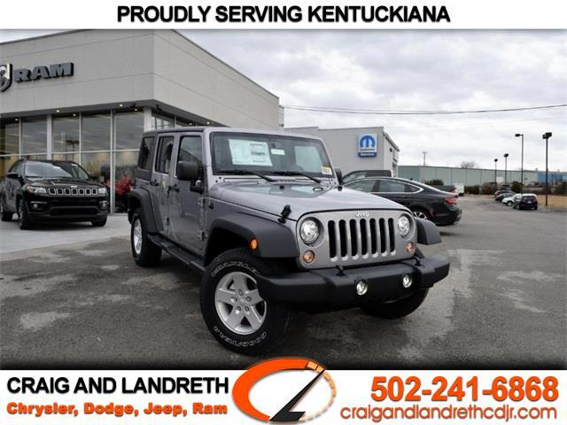 2018 Jeep Wrangler Unlimited 4WD 4dr Sport
