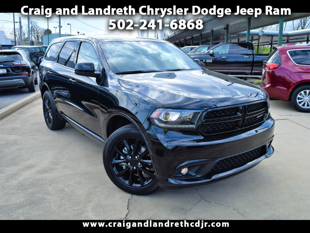 2018 Dodge Durango SXT BLACKTOP AWD
