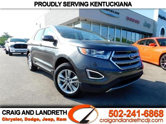 used 2016 ford edge sel awd for sale in crestwood louisville tri ky 40014 craig and landreth. Black Bedroom Furniture Sets. Home Design Ideas