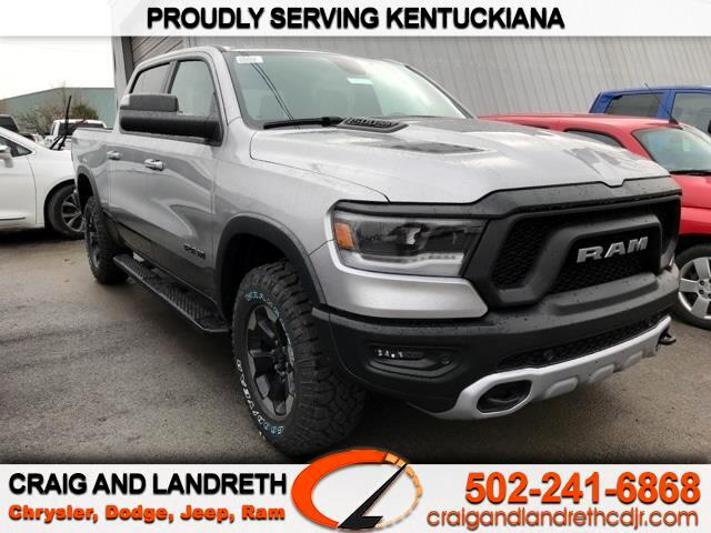 "RAM 1500 Rebel 4x4 Crew Cab 5'7"" Box 2019"
