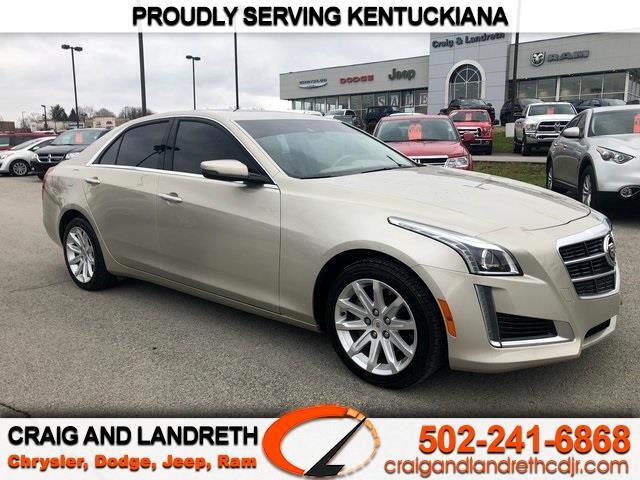 2014 Cadillac CTS Sedan 4dr Sdn 2.0L Turbo Luxury AWD