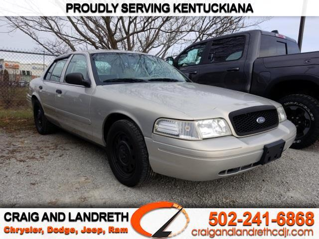 2006 Ford Crown Victoria 4dr Sdn Std Commercial Base