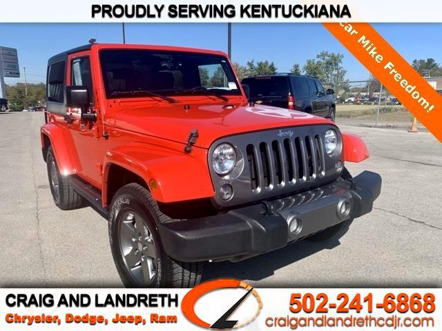 Jeep Wrangler 4WD 2dr Freedom Edition *Ltd Avail* 2015