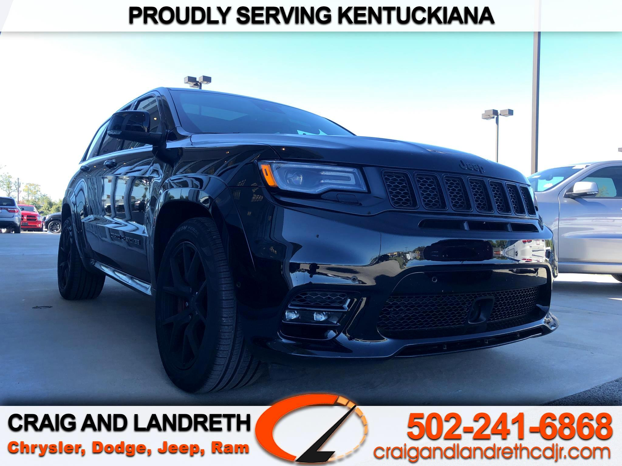 Jeep Grand Cherokee SRT 4D SUV 4WD 2019