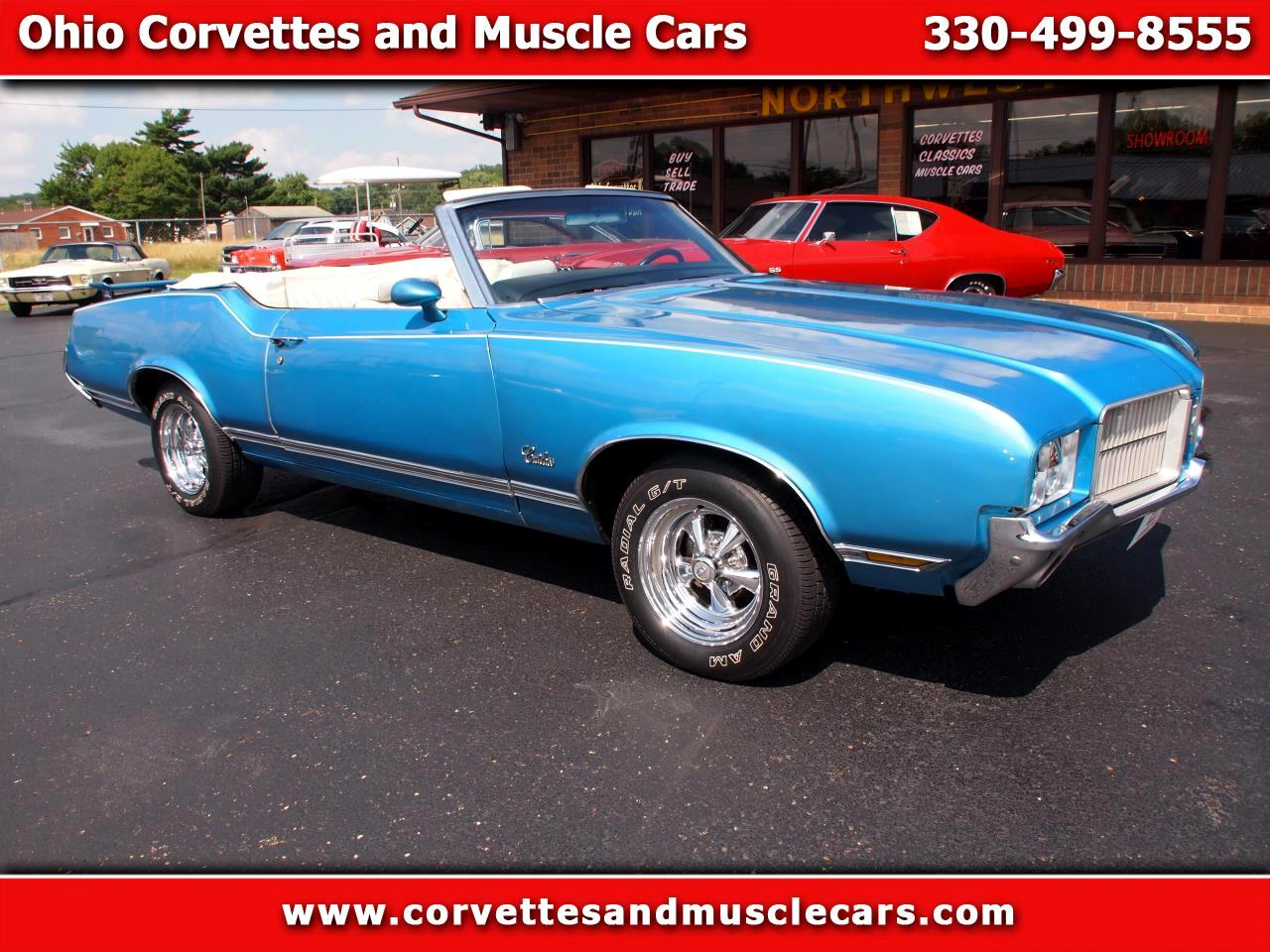 Oldsmobile Cutlass Supreme 2dr Convertible 1971