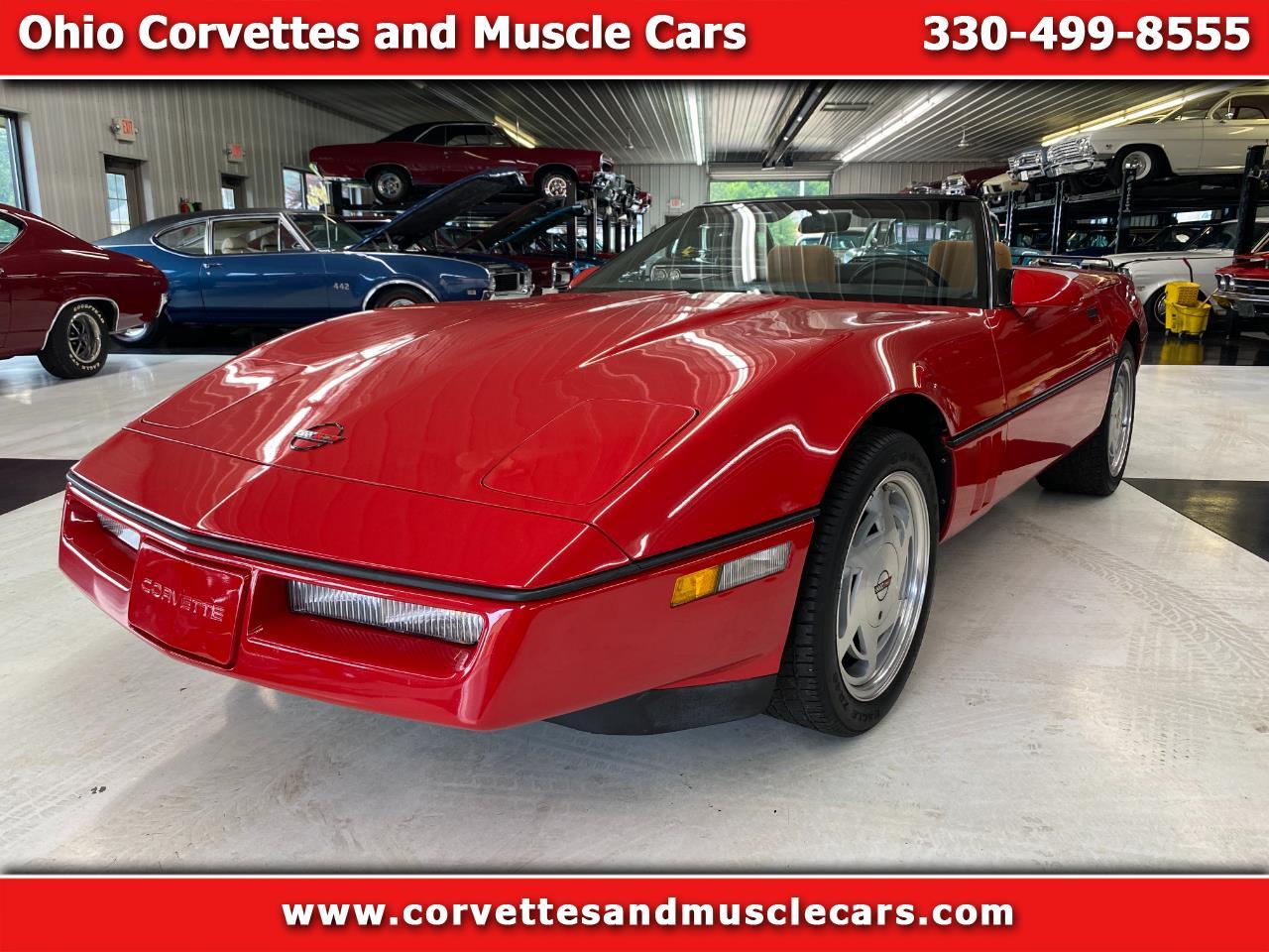 Chevrolet Corvette Convertible 1989