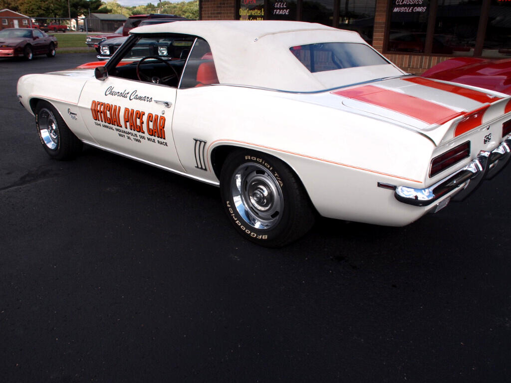 1969 Chevrolet Camaro Pace Car Convertible