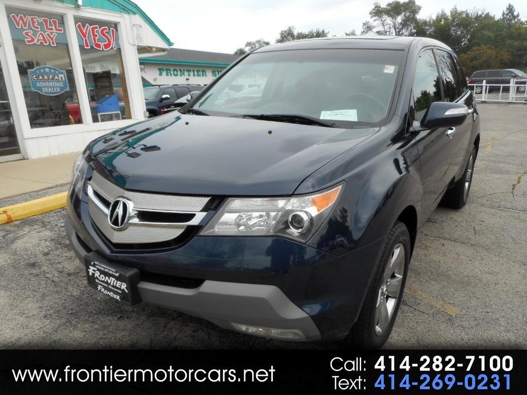 2009 Acura MDX AWD 4dr Sport/Entertainment Pkg