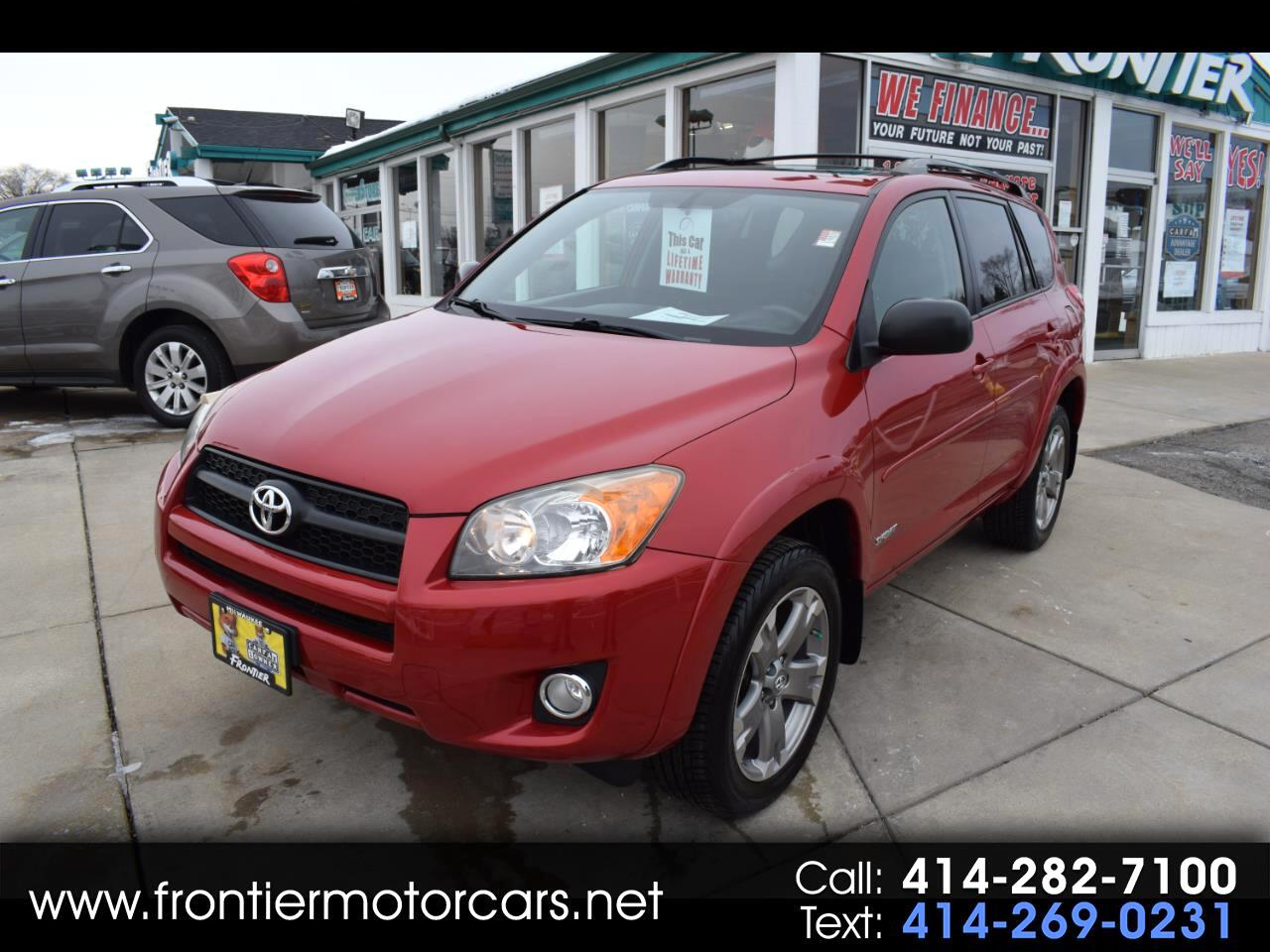 2009 Toyota RAV4 4WD 4dr 4-cyl 4-Spd AT Sport (Natl)