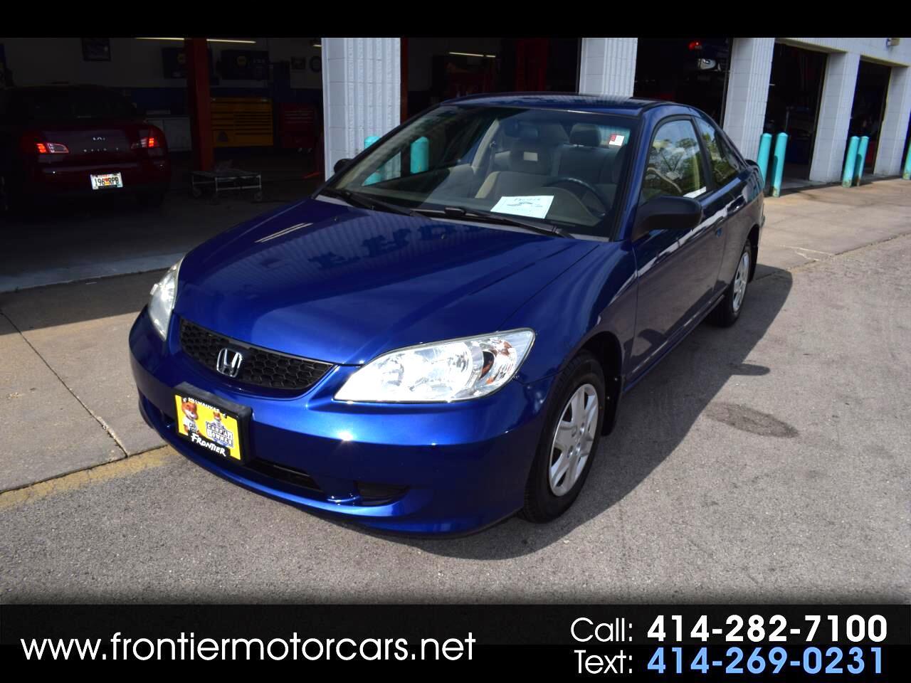 2005 Honda Civic Cpe VP MT