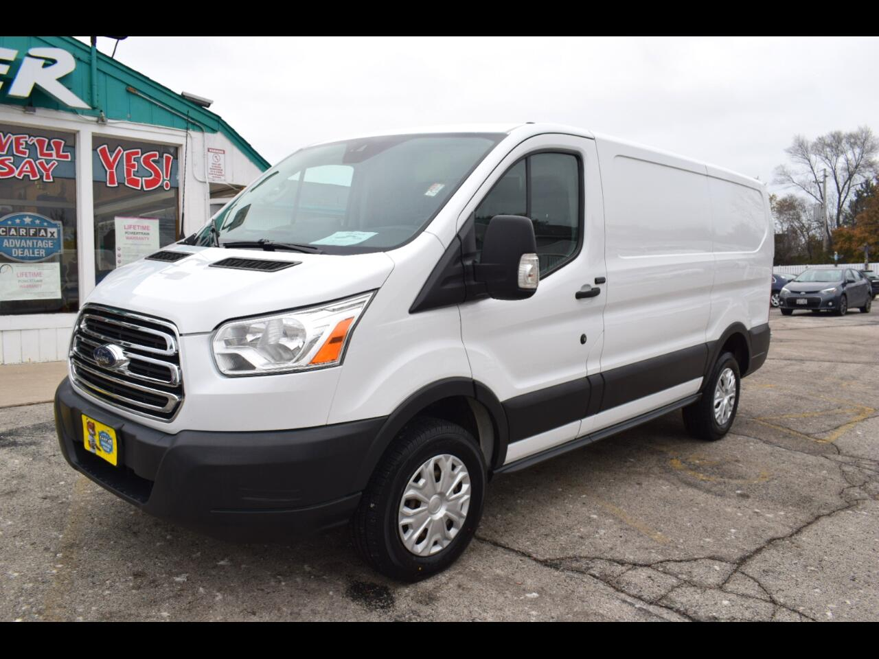 "Ford Transit Cargo Van T-250 130"" Low Rf 9000 GVWR Swing-Out RH Dr 2016"