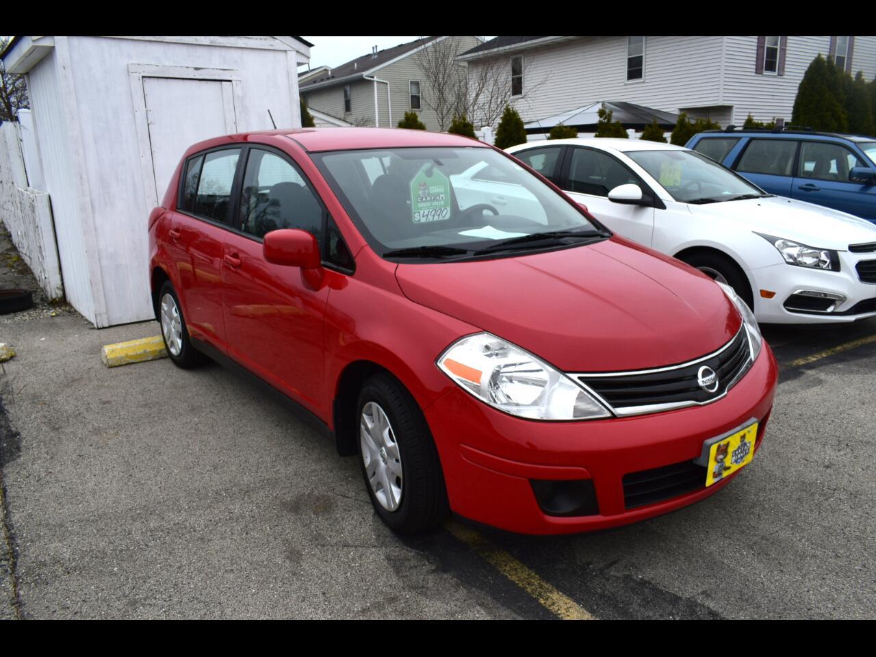 Nissan Versa 5dr HB I4 Auto 1.8 S 2010