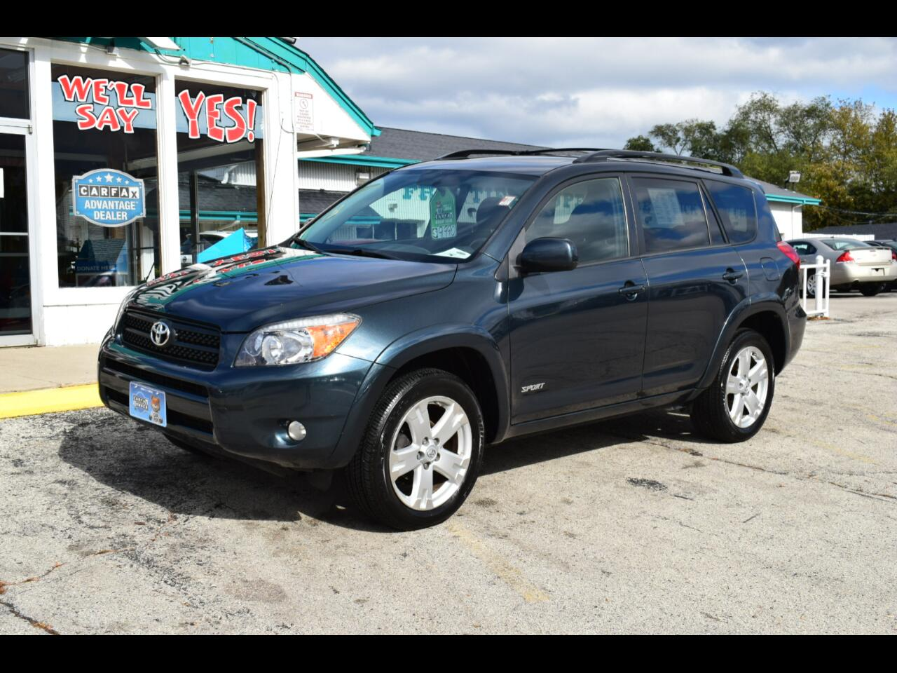 Toyota RAV4 4WD 4dr 4-cyl 4-Spd AT Sport (Natl) 2008