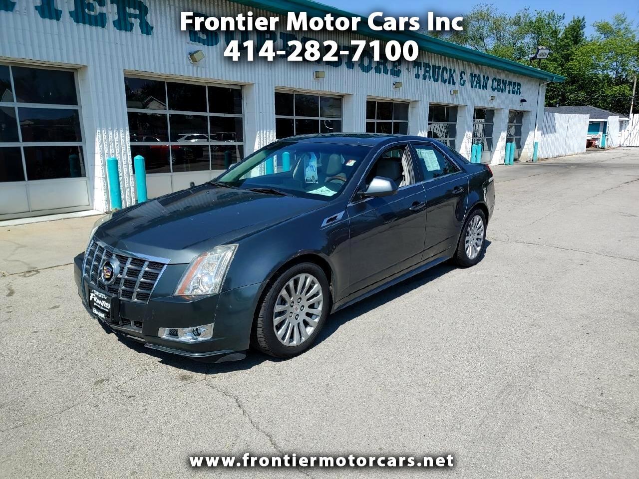 Cadillac CTS Sedan 4dr Sdn 3.6L Premium AWD 2012
