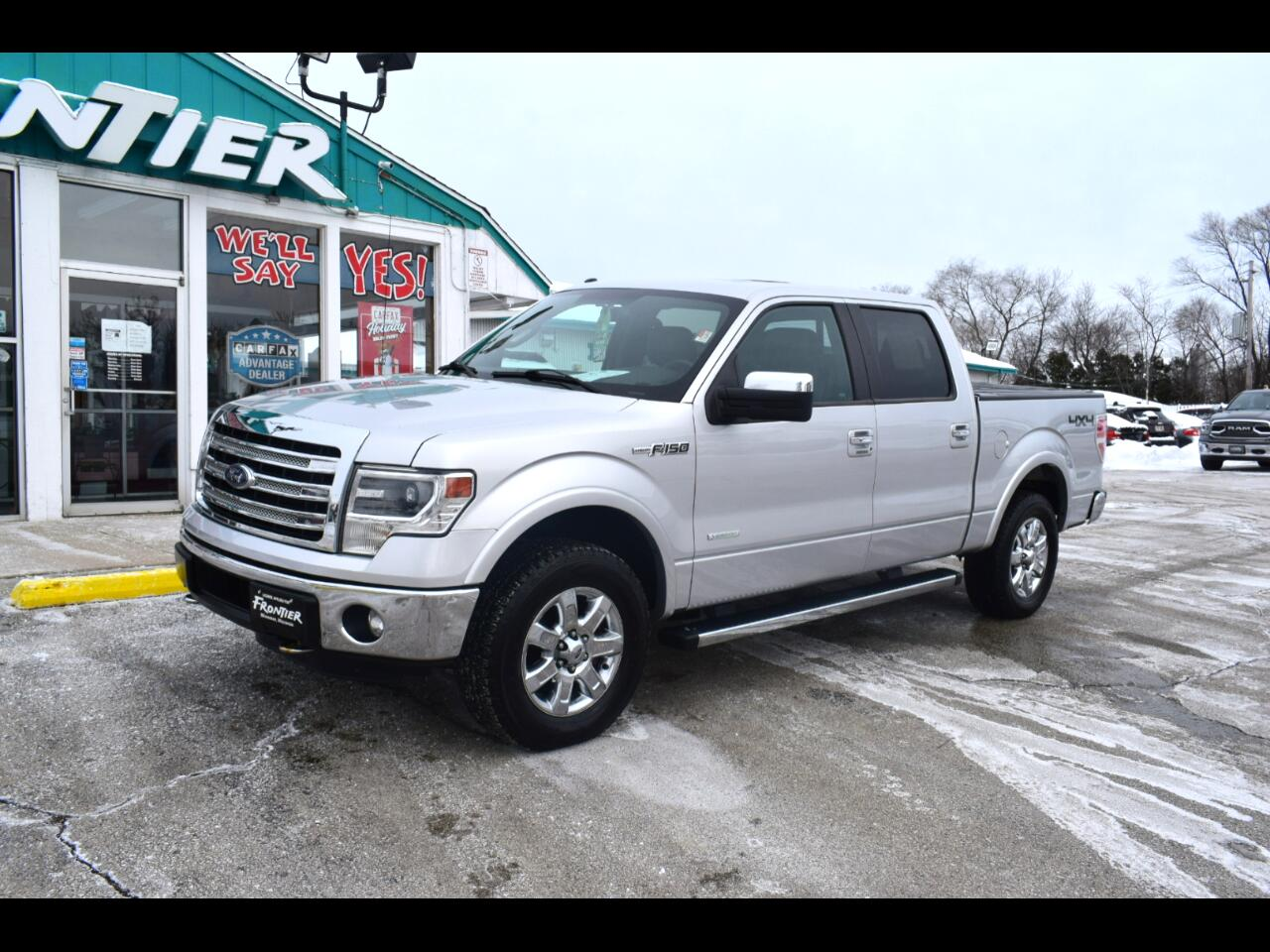 Ford F-150 Lariat SuperCrew Short Bed 4WD 2014