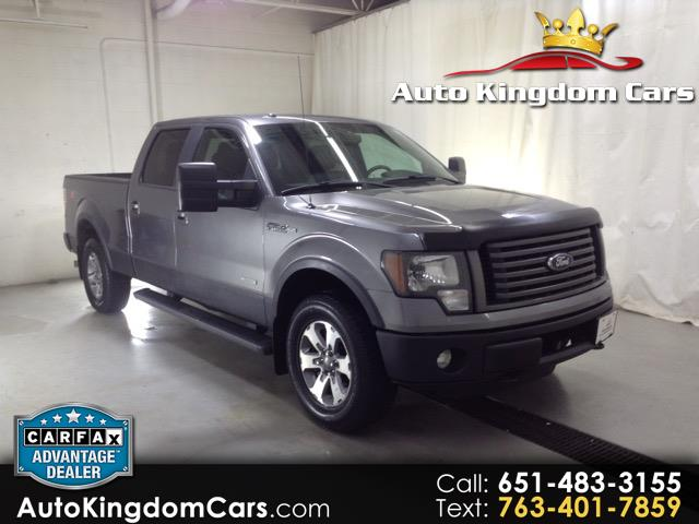 2011 Ford F-150 FX4 SuperCrew 6.5-ft Box 4WD