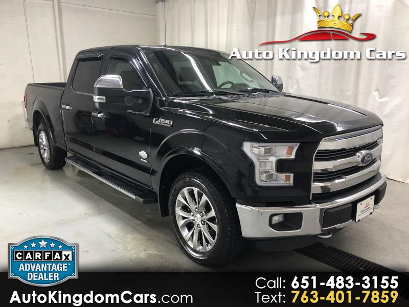 2016 Ford F-150 King Ranch 4WD SuperCrew 6.5' Box