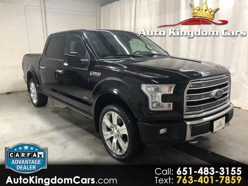 2016 Ford F-150 Limited 4WD SuperCrew 5.5' Box