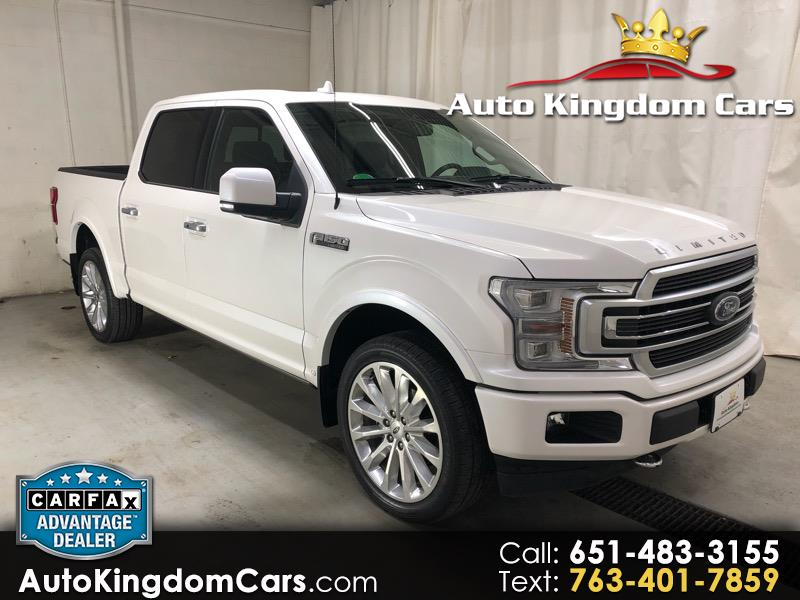 2018 Ford F-150 Limited 4WD SuperCrew 5.5' Box