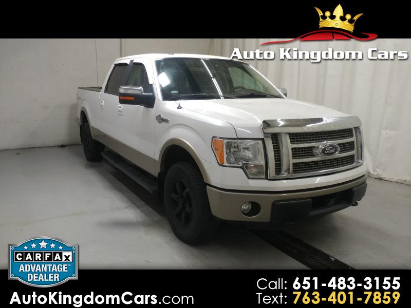 Ford F-150 King Ranch 4WD SuperCrew 6.5' Box 2011