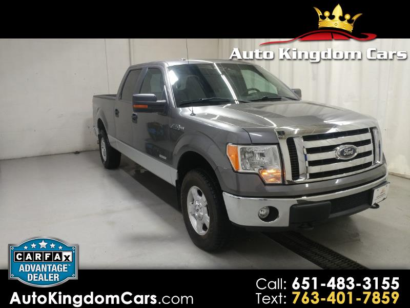 "2012 Ford F-150 4WD SuperCrew 157"" XLT"