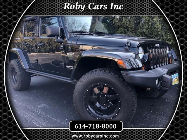 2012 Jeep Wrangler Unlimited 4WD 4dr Call of Duty MW3 Edition