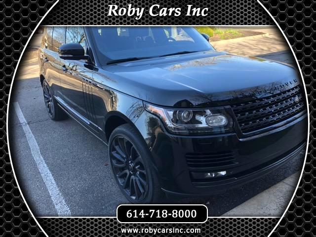 2014 Land Rover Range Rover 4WD 4dr Supercharged Ebony Edition