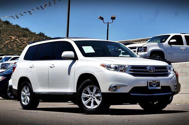 2013 Toyota Highlander sport plus