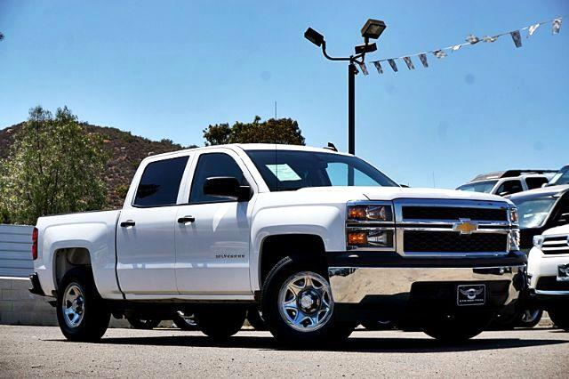 2015 Chevrolet Silverado 1500 Work Truck Crew Cab Long Box 2WD