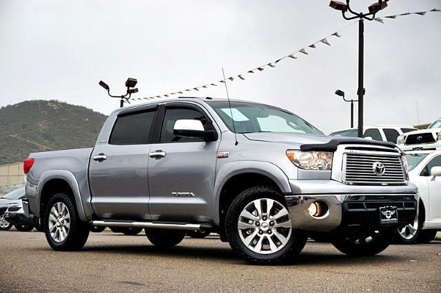 2012 Toyota Tundra Crewmax 4X4 Platinum