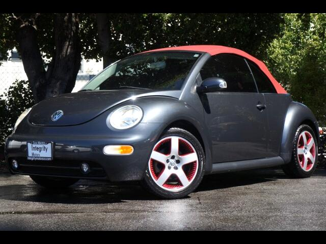 2005 Volkswagen New Beetle Cabrio Red Limited Edition