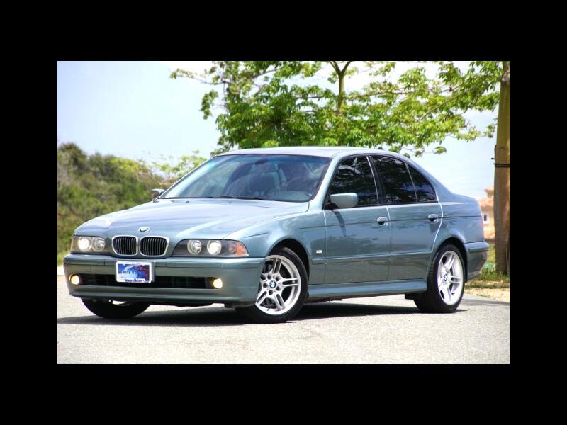 2002 BMW 5-Series 540I SPRT PKG